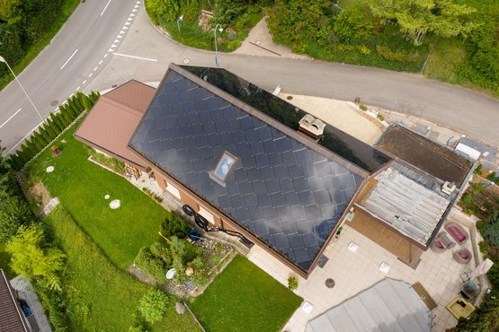 Home Energy Solaranlage Referenz Sissach