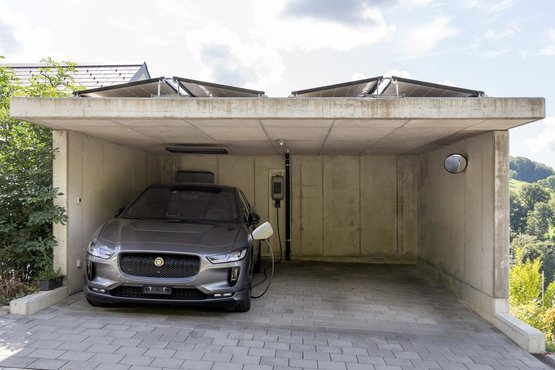 Home Energy Referenz Carport Utzigen